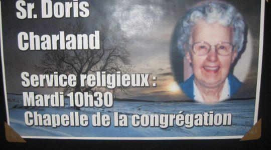 Funerales Hermana Doris Charland, mnda