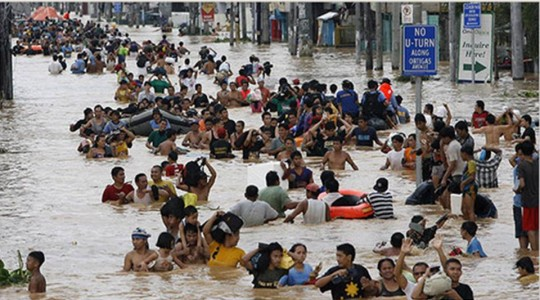 Typhon Ondoy en sept 2009