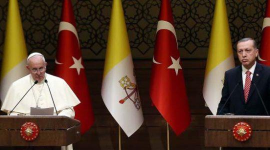 Recep Erdogan et le Pape, une rencontre d'une « authentique rareté »