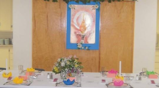 Fête jubilaire célébrée à la Maison Mère
