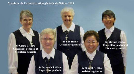 Le 19e épisode : Au Chapitre général 2008, je suis élue conseillère générale