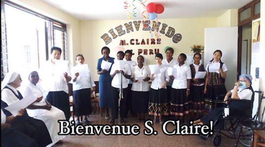 Visite de soeur Claire Lessard au Pérou