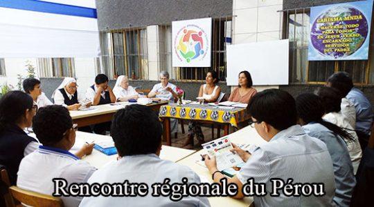 Rencontre régionale des sœurs du Pérou