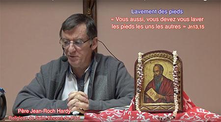 Vidéo 8 : Lavement des pieds « Vous aussi, vous devez vous laver les pieds les uns les autres » Jn 13,15