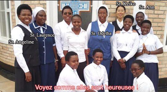 Vidéo – Fête de Notre-Dame des Anges au Noviciat International