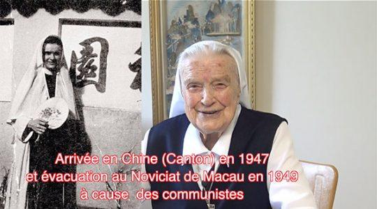 Vidéo #3/5 Une centenaire épatante ! Sa mission en Asie (Chine et Japon)
