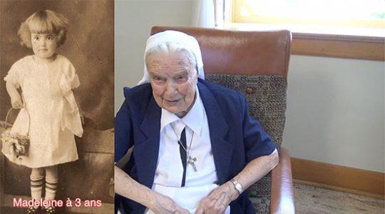 Vidéo # 1/5 : Biographie de soeur Madeleine Filion mnda