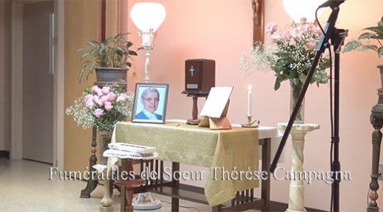 Veillée de prière pour Sr. Thérèse Proulx Campagna