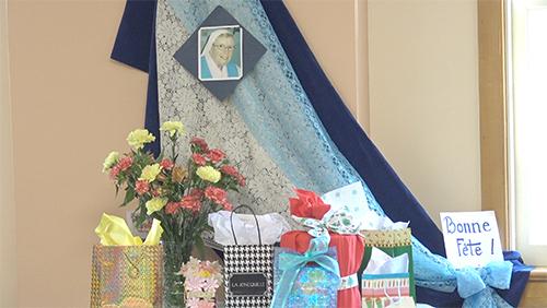 Fête d'anniversaire de soeur Ginette Scott, notre nouvelle supérieure