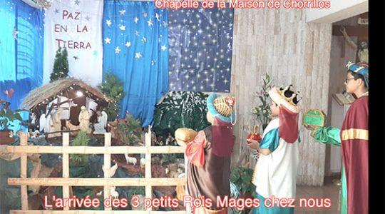 Fête de l'Épiphanie célébrée à la maison à Chorrillos