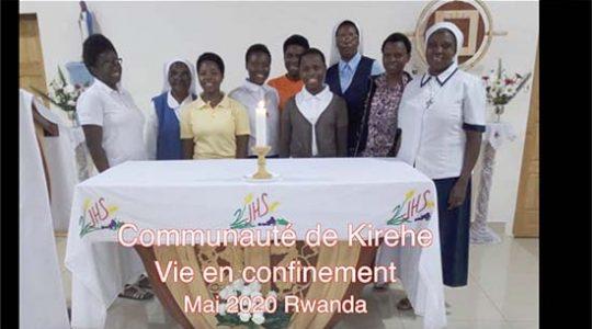 Vie de confinement de nos soeurs à Kirehe (Rwanda)