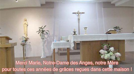 Vidéo # 2/8 Dernières Laudes et messe à la Maison-mère