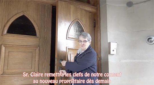Vidéo # 8/8 La veille de remettre les clefs du couvent au nouveau propriétaire
