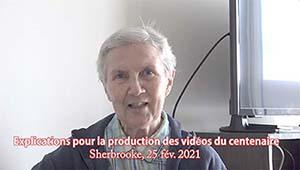 Explications pour la production des vidéos du centenaire