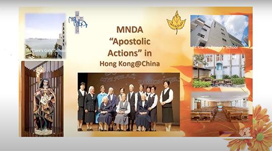 Vidéo # 5/5 : Apostolat des Soeurs de la région HK-Macau-Chine