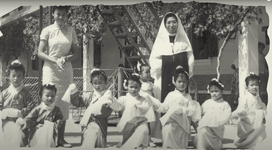 Vidéo # 4/5 : Histoire de l'école Notre-Dame-Fatima à Macau